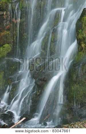 Squamish River Road Roadside Waterfalls