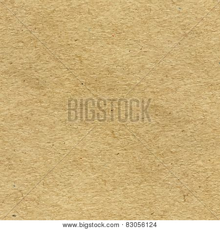 Vector High-Resolution Blank Craft Recycled Paper Texture poster