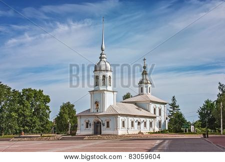 Alexander Nevsky Church, Vologda, Russia