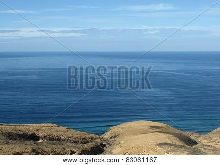 The Jandia nature park on Fuerteventura