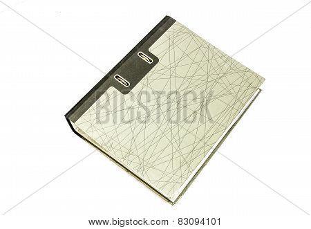 File Folder Isolated On White Background
