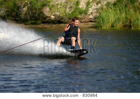wakeboard spray