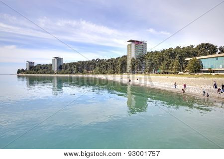 Abkhazia. The Resort Pitsunda