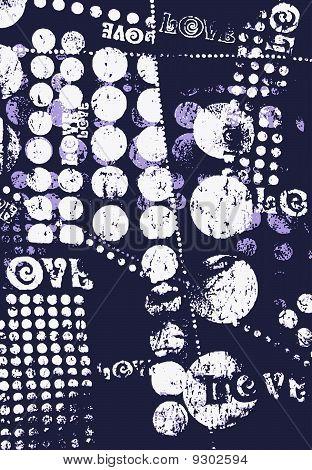 circle and dot pattern