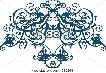 spiral ornament pattern