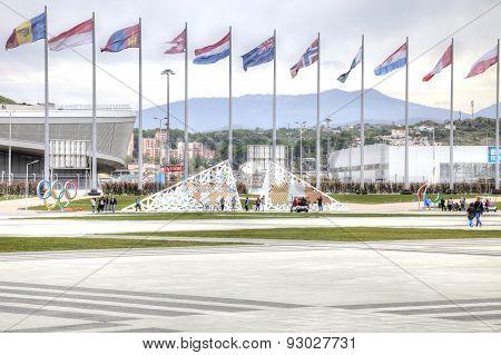 Sochi. Area