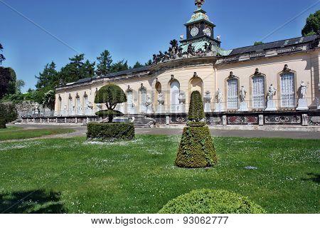 Palace In The Park Sanssouci