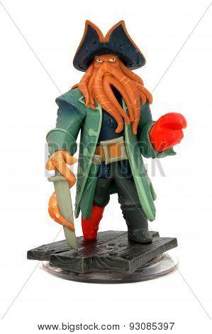 Captain Davy Jones Disney Infinity Figurine