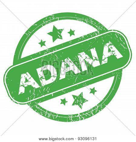 Adana green stamp