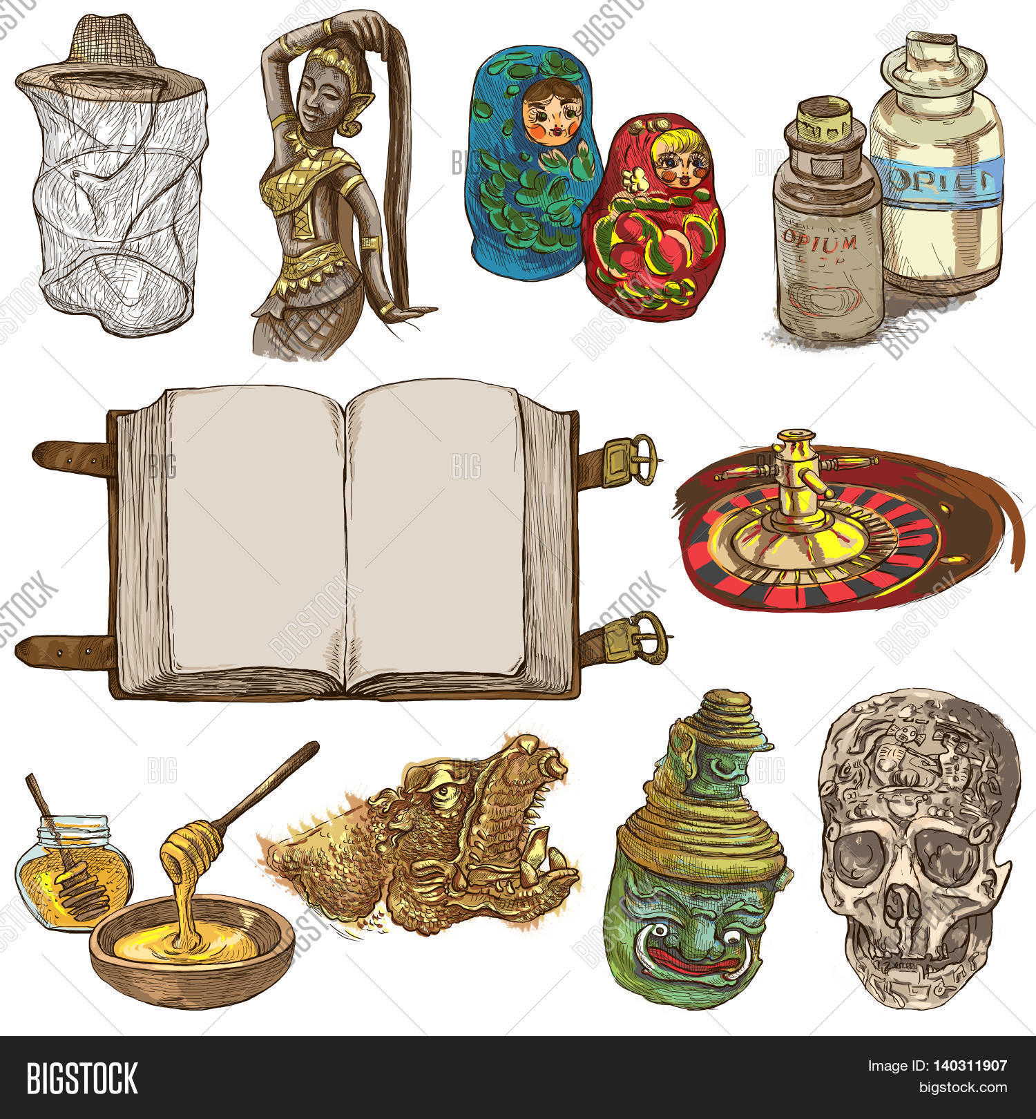Objects Different Image Photo Free Trial Bigstock