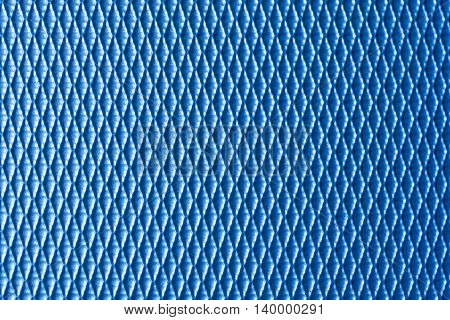the luggage texture background in light blue tone