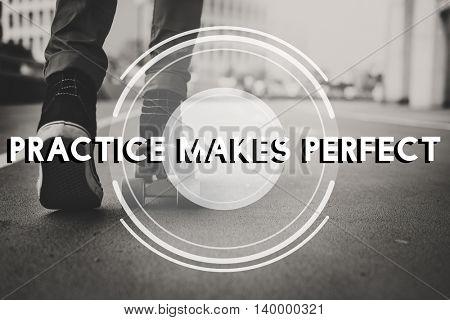 Skater Life Change Active Leisure Concept