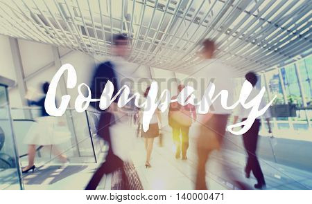 Company Business Organization Management Concept