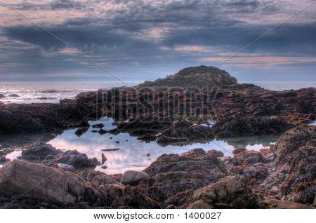 Pacific Ocean. Landscape