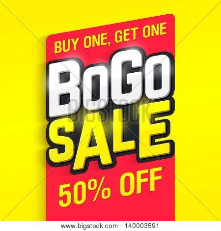 Bogo Sale banner