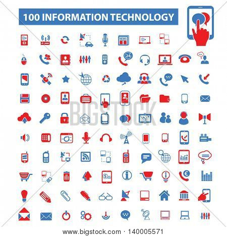 information technology icons