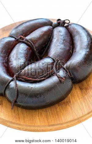 Homemade Blood Sausage.