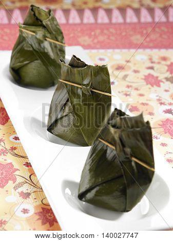 Indonesia traditional pastry kueh bugis
