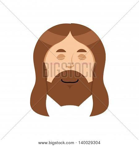 Good Jesus. Sweet Christ. Spiritualized Religious Character. Son Of God