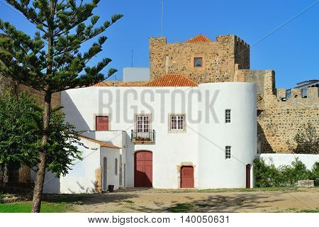 The old castle of Sines, example of the older architecture, South Portugal