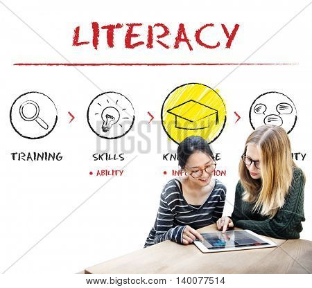 Literacy Educated Knowledge Wisdom Insight Concept