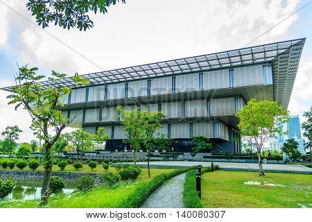 Hanoi, Vietnam - May 2016 : The Hanoi museum in Hanoi, Vietnam