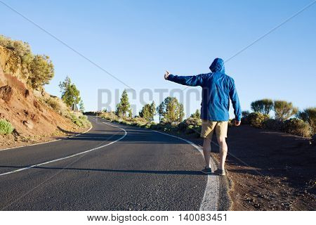 Hitch-hike travel