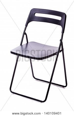 Foldable Chair Over White