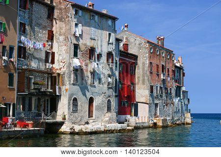 Rovinj a beautiful city in Istrien Croatia