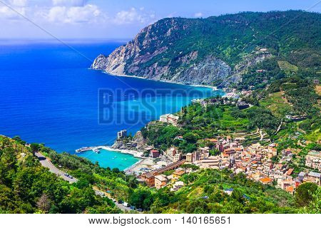 Italian holidays - picturesque scenery of Monterosso al mare - Cinque terre