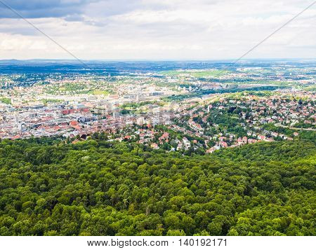 Stuttgart, Germany Hdr