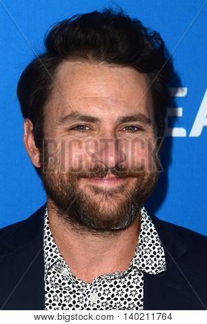 LOS ANGELES - JUL 19:  Charlie Day at the Oceana Presents Sting Under The Stars at the Private Home on July 19, 2016 in Los Angeles, CA
