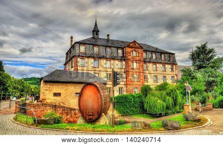 Wine barrel in Molsheim - Bas-Rhin, Alsace, France