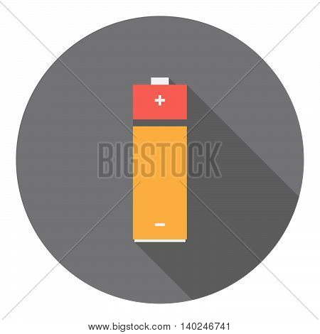 Battery Power Cell Flat Icon