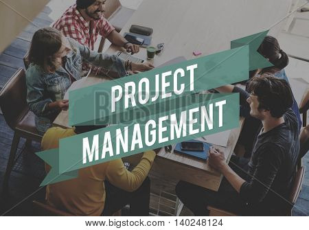 Project Management Forecast Operation Predict Concept