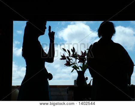 Sign Language At A Wedding