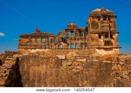 Chittorgarh Fort, Rajasthan, India.
