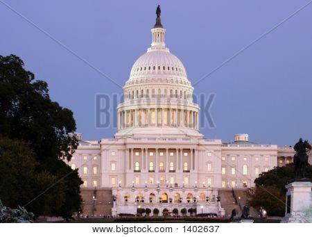 Us Capitol Closeup