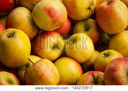 Many Apples - Apple Background