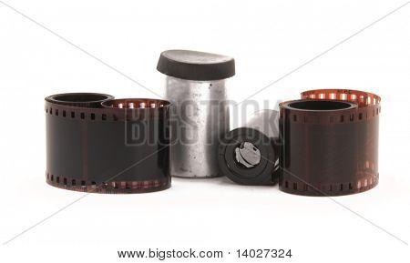 35 mm film negative rolls
