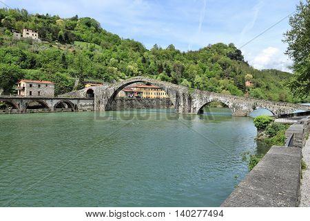 Devil's Bridge, Tuscany