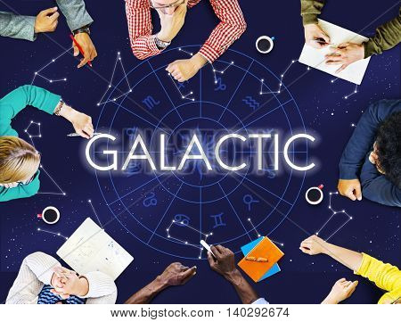Galactic Atmosphere Cosmos Energy Exploration Concept
