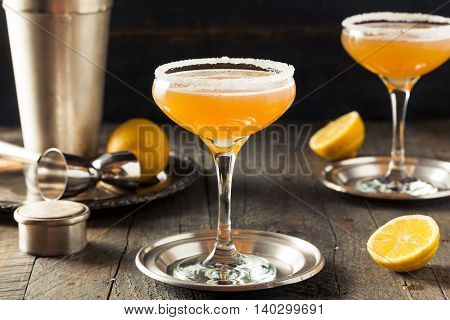 Refreshing Boozy Sidecar Cocktail