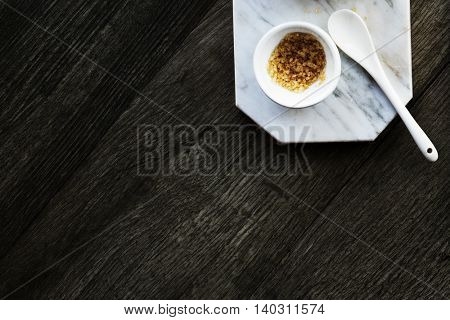 Sugar Sweetening Marble Dish Concept