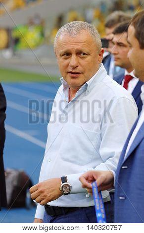President Of Fc Dynamo Kyiv Igor Surkis