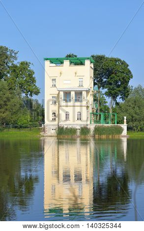 Holguin pavilion - Pavilion in suburb of St. Petersburg Russia.