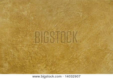 Tuscan gold plastser wall background