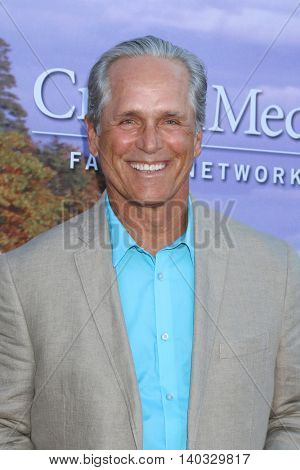 LOS ANGELES - JUL 27:  Gregory Harrison at the Hallmark Summer 2016 TCA Press Tour Event at the Private Estate on July 27, 2016 in Beverly Hills, CA