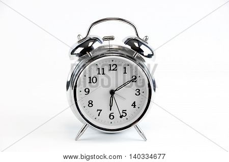 alarm clock isolated on white background for design