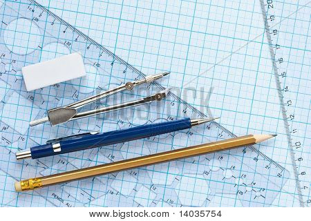 drawing tools background